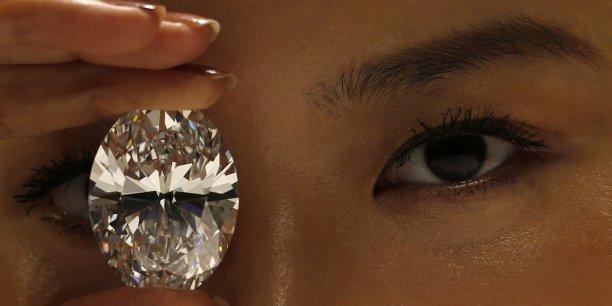 La Chine préfère (à 63%) les pierres moyennes (entre 0,18 et 0,99 carat) et dénigre totalement (8,1% seulement de la demande) les petites pierres (inférieures à 0,18 carat).