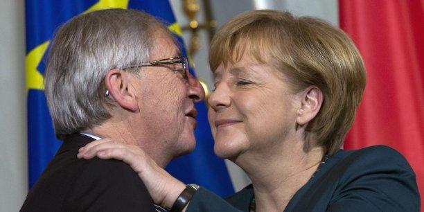 Jean-Claude Juncker serait le choix d'Angela Merkel pour la prochaine commission européenne