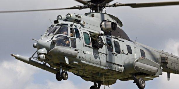 Le Caracal (H225M) est vraiment le best-seller de ce début d'année pour Airbus Helicopters