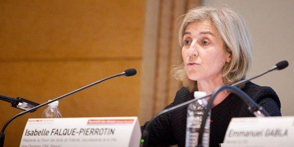 Isabelle Falque-Pierrotin, la patronne de la Cnil, a débuté sa carrière dans le secteur privé, chez Bull, en 1991.
