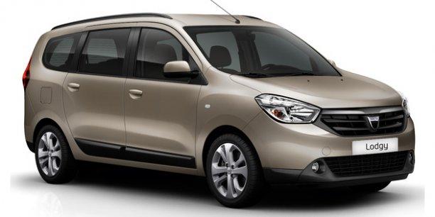 La Dacia Lodgy est un modèle universel, après la Logan ou le Duster./ DR