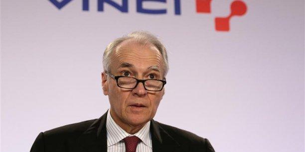 Le PDG de Vinci, Xavier Huillard, siège désormais au conseil d'ADP