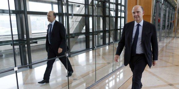 Pour Pierre Moscovici, la France peut faire plus de 1% de croissance sur l'ensemble de l'année 2014. (Reuters/Charles Platiau)