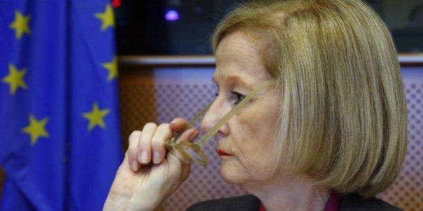 La Française Danièle Nouy placée à la tête du superviseur bancaire européen aura la lourde tâche de ramener la confiance entre les banques des divers pays de la zone euro. Mais sans mécanisme de résolution bancaire, la mission paraît plus que complexe. (Photo : Reuters)