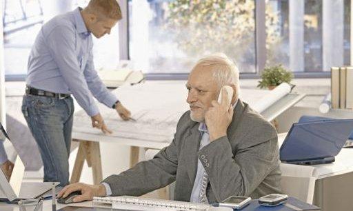 Les défis que pose l'allongement de la durée de la vie sont une opportunité pour repenser les parcours de carrière./ DR