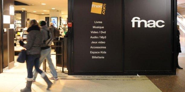 Devant un magasin Fnac dans le centre de Lyon. Laurent Cerino/Acteurs de l'économie