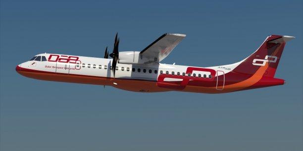 La société de location d'avions des Émirats Arabes Unis, Dubai Aerospace Entreprise (DAE), s'est offert 40 ATR 72-600, dont 20 fermes et 20 options.