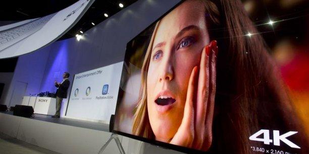 Les équipes de GfK estiment qu'il se vendra cette année 200.000 exemplaires de TV 4K ou ultra haute définition.