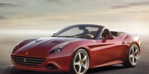 La Ferrari California T, une des sublimes voitures au catalogie du constructeur