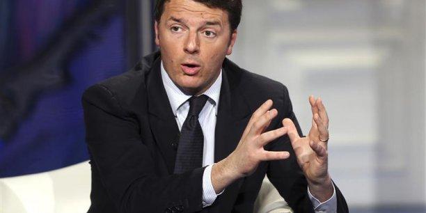 Il est nécessaire et urgent d'ouvrir une phase nouvelle avec un exécutif nouveau soutenu par la majorité actuelle, s'est justifié Matteo Renzi pour prendre la place d'Enrico Letta à la présidence du Conseil italien. (Photyo : Reuters)