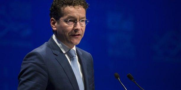 Pour Jeroen Dijsselbloem, outre la question d'un nouveau programme d'aide, la question prioritaire est désormais de savoir comment réduire l'endettement du pays, et surtout, de savoir qui va le faire. (Photo : Reuters)