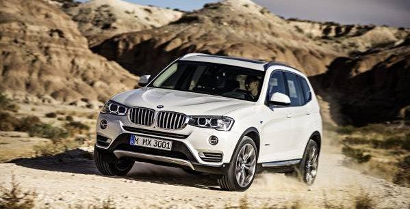 Le BMW X3 est produit aux Etats-Unis