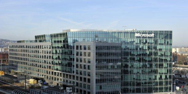 Siège de Microsoft France à Issy les Moulineaux. / DR