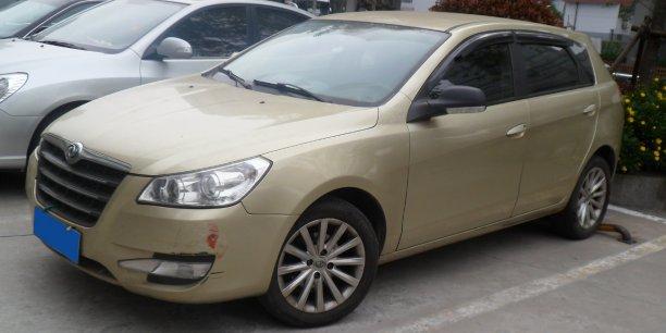 Un modèle chinois de Dongfeng