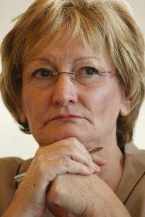 Nicole Nottat fondatrice de l'agence de notation sociale Vigeo. ©Hamilton/Rea