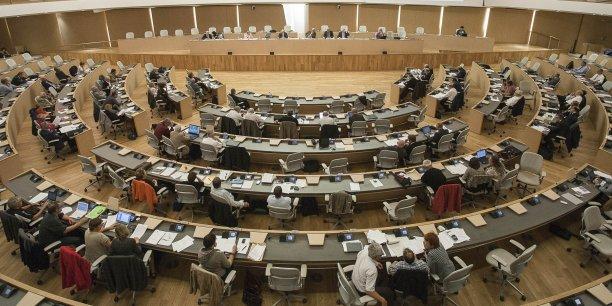 Investiture du nouveau conseil économique et social de Rhône-Alpes. ©Emmanuel Foudrot