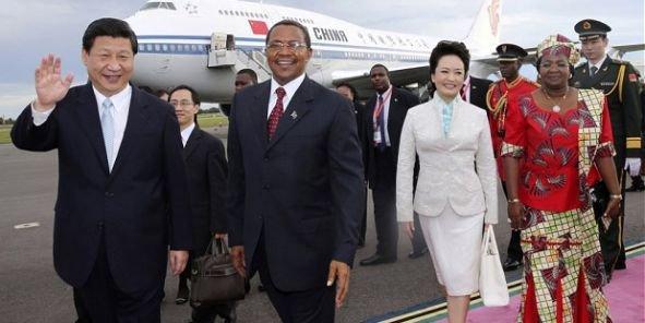 Lors de son investiture en 2013, le président chinois Xi Jinping avait choisi l'Afrique pour son premier voyage officiel à l'étranger. Ci-dessus à Dar es Salam, Tanzanie.