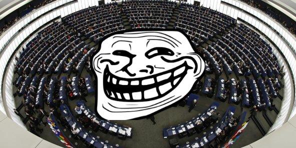 Des fonctionnaires européens vont-ils devenir une patrouille de trolls qui influencent la conversation sur les réseaux sociaux ? (DR)