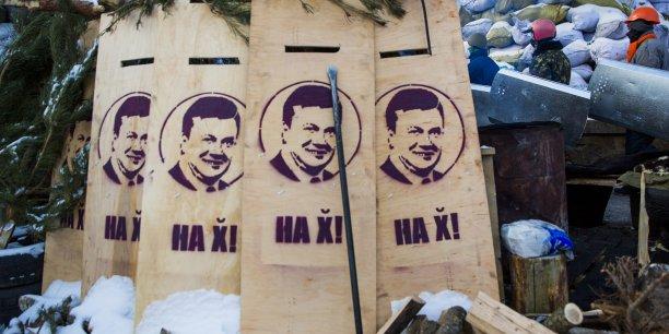 Le président Ianoukovitch a quitté Kiev dans la matinée et rejoint l'est de l'Ukraine, pro-russe. (Photo : Reuters)