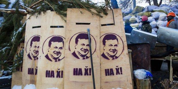 Le président ukrainien a annoncé vendredi la tenue d'une élection présidentielle anticipée. (Reuters/Thomas Peter)