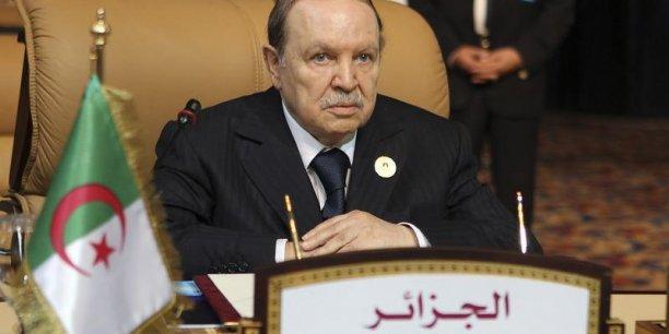 Abdelaziz Bouteflika, le grand absence de la campagne présidentielle. / Reuters