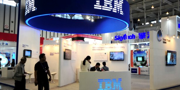 IBM investit plus de 6 milliards de dollars chaque année en R&D. (Reuters/China Daily)