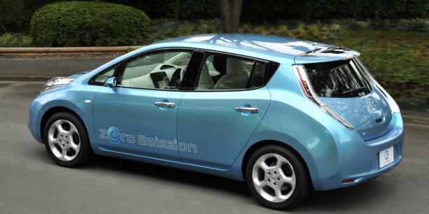 La Nissan Leaf électrique ne recontre pas le succès espéré