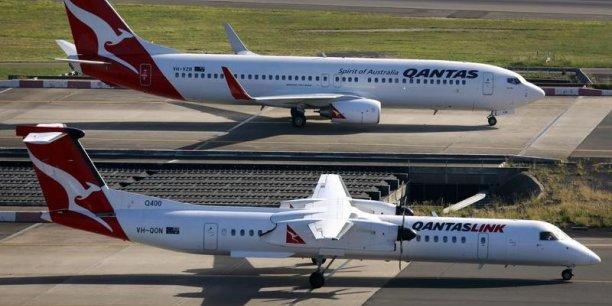 Qantas veut une garantie du gouvernement australien afin de pouvoir se financer à bon compte sur les marchés étrangers. La compagnie estime en effet que sa rivale dispose d'un avantage effectif en ayant accès aux capitaux étrangers via ses actionnaires de référence(Photo : Reuters)