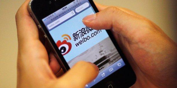 Weibo, le Twitter chinois, prévoit de lever seulement 500 millions de dollars lors de son introduction en Bourse. (Photo : Reuters)