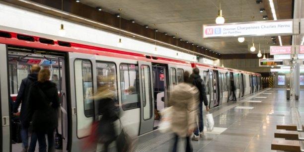 Des projets d'amélioration du métro de Lyon sont concernés par le gel de l'écotaxe.