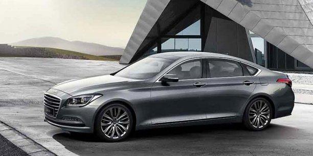 Avec sa limousine Genesis, le coréen Hyundai veut attaquer BMW et Mercedes