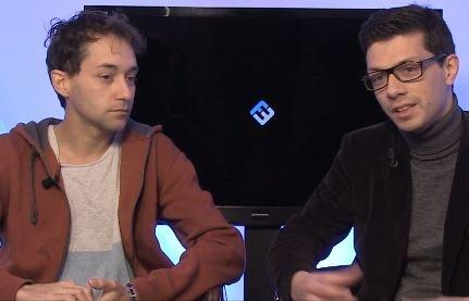 Alexandre Malsh, président de meltygroup et Thierry Debarnot, co-fondateur de digiSchool ©capture vidéo Frenchweb