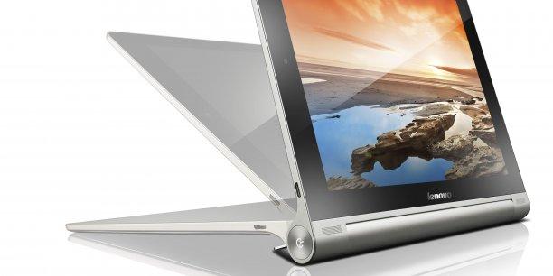 La Yoga Tablet 10 HD+  de Lenovo dévoilée au Mobile World Congress de Barcelone