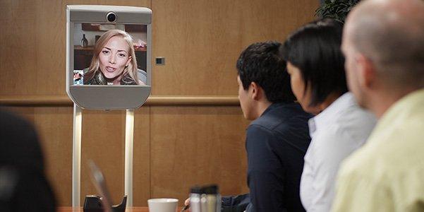 Le robot Beam permettra de visiter à distance Innorobo du 18 au 20 mars