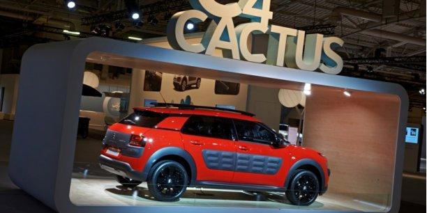 La nouvelle Citroën C4 Cactus