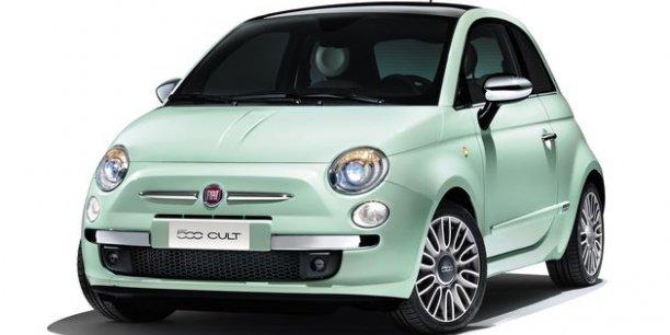 Fiat 500 Cult. / DR