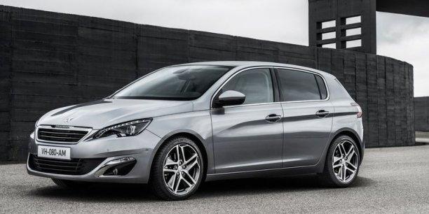 La Peugeot 308 élue voiture de l'année 2014 en Europe