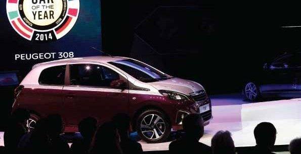 Le stand Peugeot au dernier salon de Genève