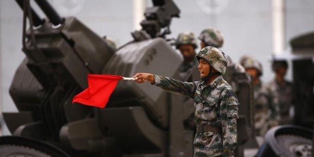 Les dépenses chinoises dévolues à la défense vont gonfler de 12,2 % cette année, à 95,9 milliards d'euros