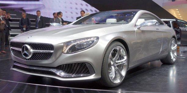 Les Mercedes font toujours rêver