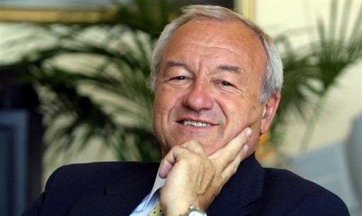 Bernard Brochand, maire de Cannes. / DR