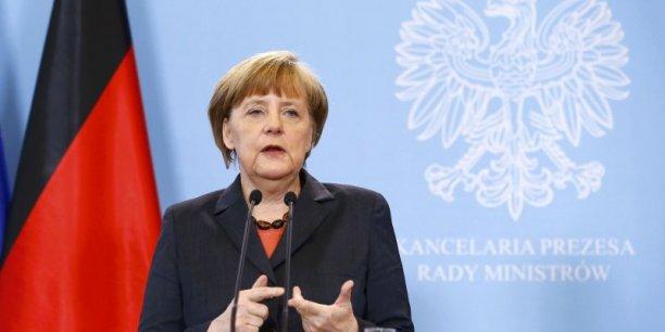 Angela Merkel devra trouver des compromis lors du sommet européen des 26 et 27 juillet