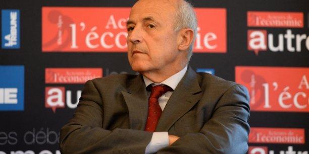 Jean-Hervé Lorenzi, professeur d'économie honoraire à l'Université Paris Dauphine. ©Laurent Cerino/Acteurs de l'économie
