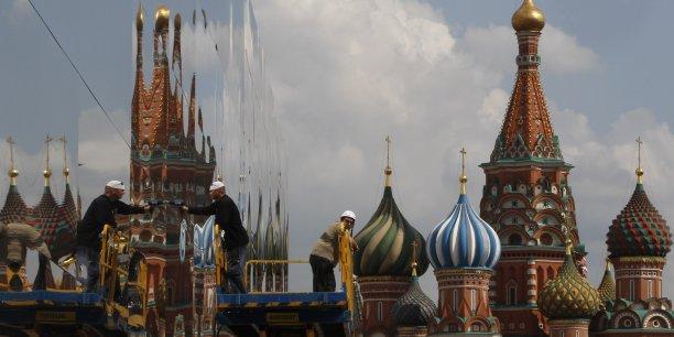 Les Etats-Unis se tiennent prêt a imposer de nouvelles sanctions contre la Russie mais la diplomatie peut encore permettre de résoudre la crise, a dit lundi Barack Obama. (Reuters/Sergei Karpukhin)