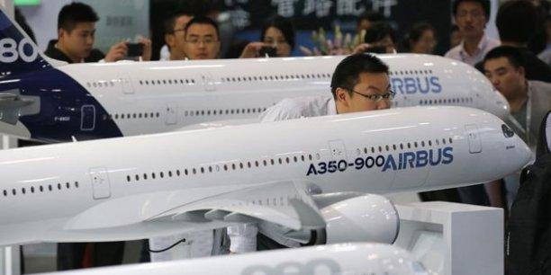 La commande porterait sur des A330, des A320 et des A350.