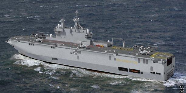 La France pourrait remettre le 14 novembre le premier des deux porte-hélicoptères de type Mistral à la Russie