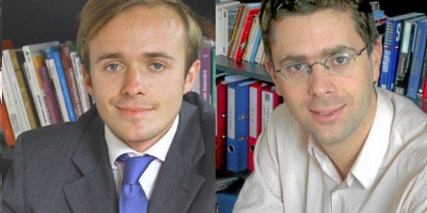 Charles-Antoine Schwerer et Nicolas Bouzou