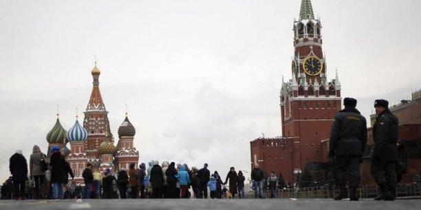 Le FMI s'attend à voir le produit intérieur brut de la Russie croître de seulement 0,2% en 2014, alors qu'une prévision antérieure avançait 1,3%. (Photo : Reuters)