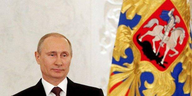 Vladimir Poutine ne craint pas les sanctions occidentales. Les marchés, si. (Photo : Reuters)