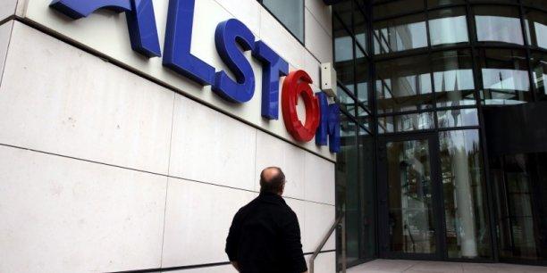 Le titre Alstom a été récemment chahuté en Bourse et le groupe est engagé dans un plan de suppression de plus de 1.300 postes au niveau mondial. (Photo : Reuters)